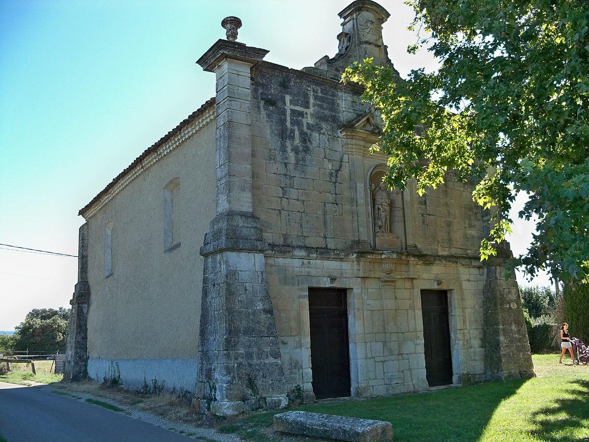 Chapelle Saint Roch De Pernes Les Fontaines Wikipedia