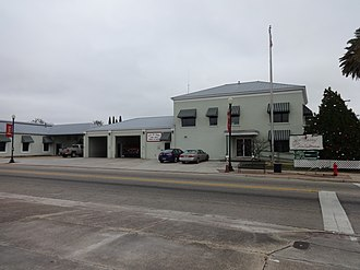 Perry, Florida - Perry City Hall and Fire Department