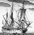 Petit vaisseau de guerre à deux ponts XVIIIeme siècle.jpg