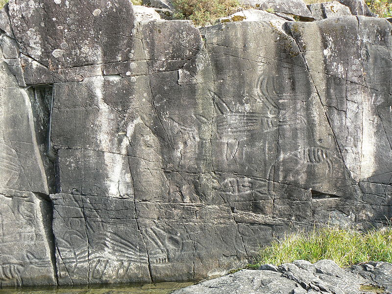File:Petroglyphs at Sproat Lake Provincial Park.JPG
