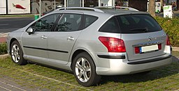 Peugeot 407 SW rear