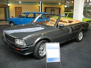 Peugeot 505 - Prototype Peugeot 505 Cabriolet