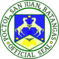 Ph seal sanjuan batangas.png