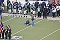 Philadelphia Eagles sideline during pregame flag ceremony.jpg