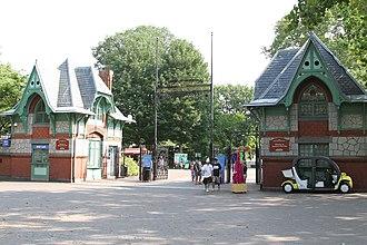 Philadelphia Zoo - Victorian gateway by Frank Furness