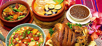 Filipino cuisine wikipedia a selection of dishes found in filipino cuisine forumfinder Image collections