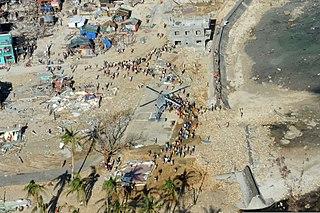 Humanitarian response to Typhoon Haiyan