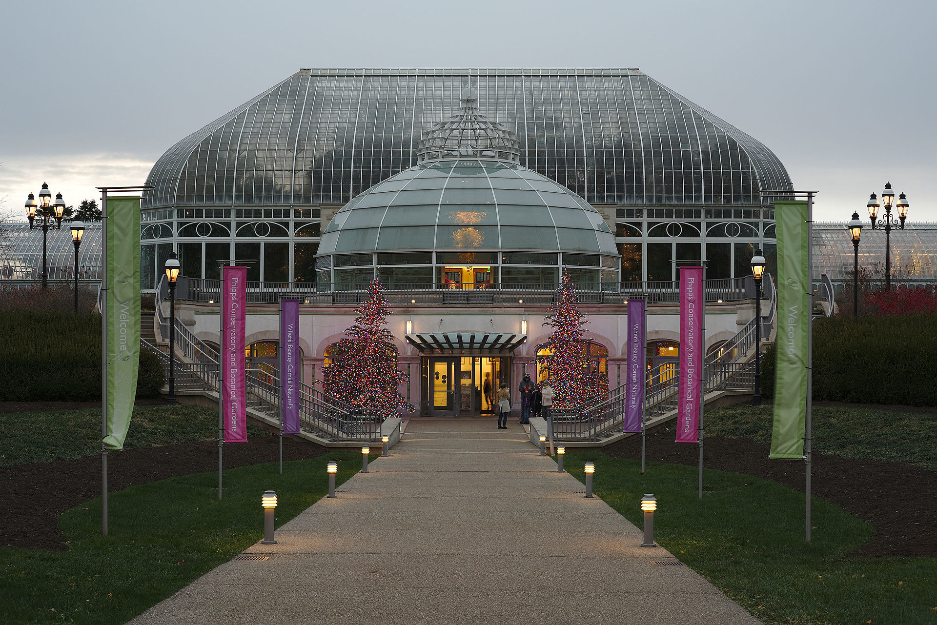 Phipps Conservatory And Botanical Gardens Wikipedia