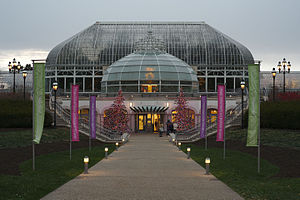 Phipps Conservatory and Botanical Gardens - Main entrance to Phipps Conservatory and Botanical Gardens
