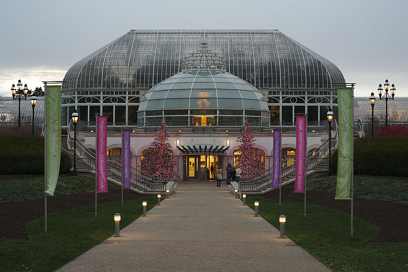 File:Phipps Conservatory winter 2015 welcome center.jpg