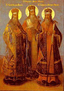 Russian Metropolitan and saint