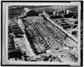 Photocopy of photograph c. 1947, photographer unknown AERIAL VIEW, LOOKING WEST - Cincinnati Union Terminal, 1301 Western Avenue, Cincinnati, Hamilton County, OH HABS OHIO,31-CINT,29-16.tif