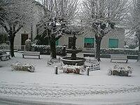 Piazza G. Zaffrani Casalzuigno innevata.JPG