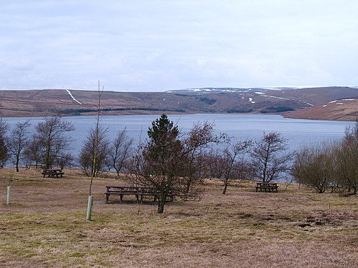Picnic area at Grimwith - geograph.org.uk - 1748447