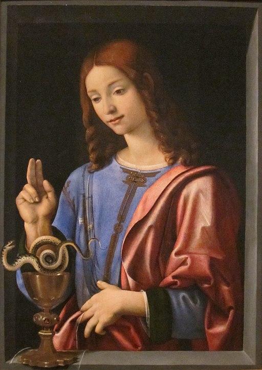Piero di Cosimo (Piero di Lorenzo) - St. John the Evangelist, c. 1500