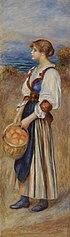 Girl with Basket of Oranges (Marchande d'oranges)