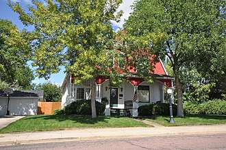 National Register of Historic Places listings in Hughes County, South Dakota - Image: Pierre SD Brink Wegner House