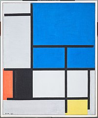 Piet Mondrian - Composition with Large Blue Plane, Red, Black, Yellow, and Gray - 1984.200.FA - Dallas Museum of Art.jpg