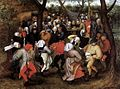 Pieter Brueghel the Younger - Peasant Wedding Dance (Brussel) - WGA03635.jpg