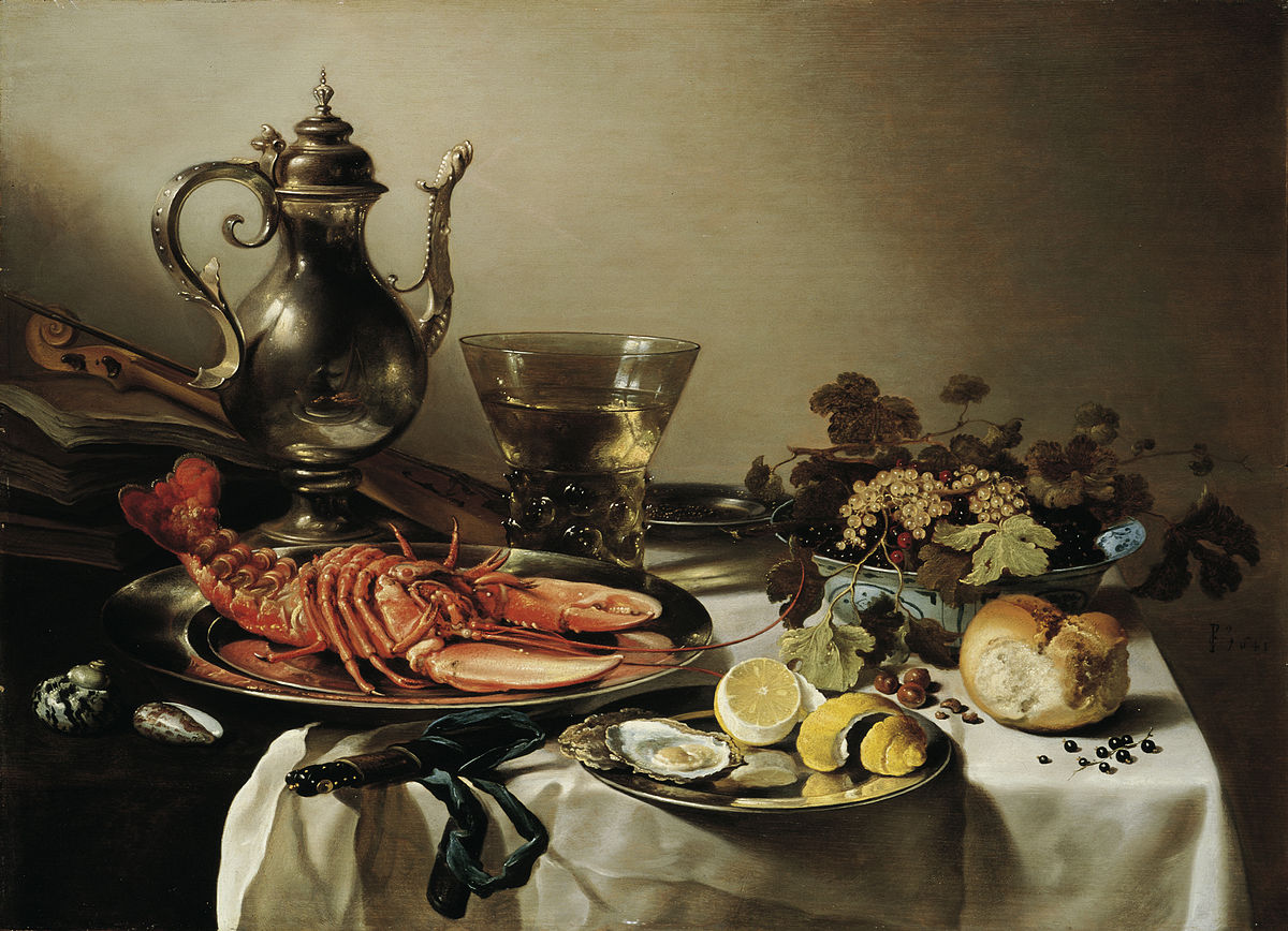 Plate With Lobster Silver Jug Large Berkenmeyer Fruit Bowl Violin And Books Wikidata