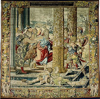 Brussels tapestry - Image: Pieter Coecke van Aelst 001