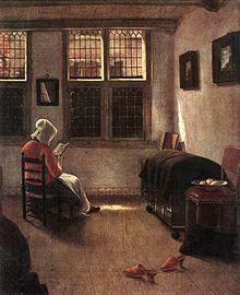 women reading in art wikipedia