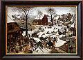Pieter bruegel il giovane, il censimento di betlemme (lille).jpg
