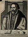 Pietro Andrea Mattioli. Line engraving by N. de Larmessin, 1 Wellcome V0003913.jpg