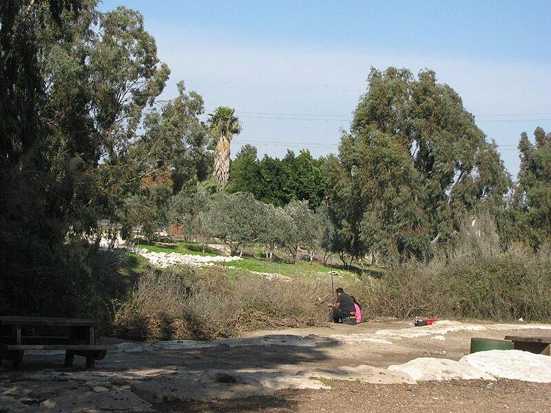 פארק הקישון ליד קרית טבעון