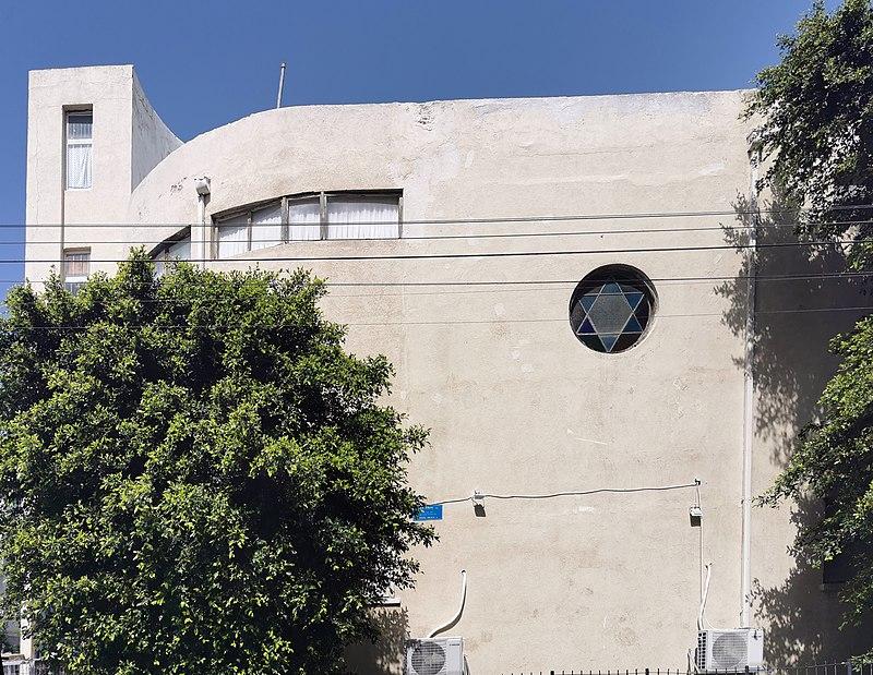 הבית ברחוב יהודה הלוי 13 בתל אביב