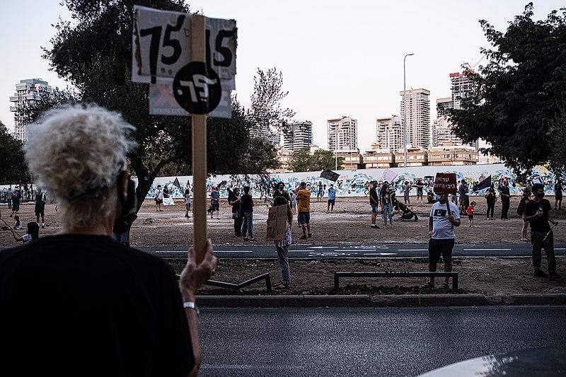 הפגנה למען הדמוקרטיה ונגד שחיתות שלטונית
