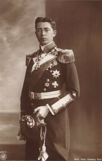 Prince Waldemar of Prussia (1889–1945) - Image: Pince Waldemar 2
