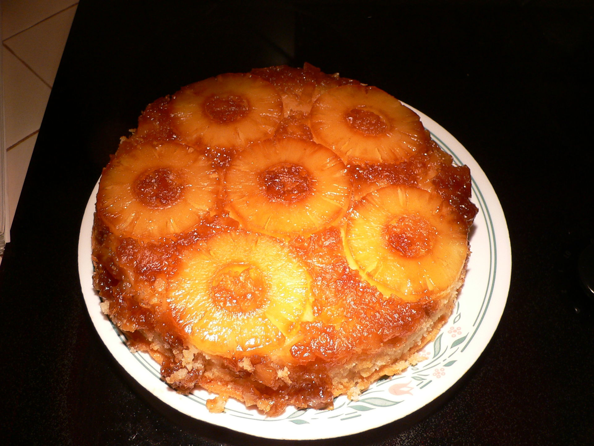 Upside Down Banana Cake Facebook