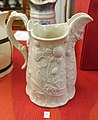 Pitcher, England, c. 1840-1860, salt glaze ceramic - Old Colony History Museum - Taunton, Massachusetts - DSC03861.jpg