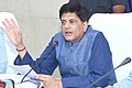 Piyush Goyal addressing at a review meeting of the annual performance of Nagpur based Miniratna PSU Western Coalfields Limited (WCL), in Nagpur.jpg