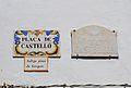 Plaça de Castelló d'Algar de Palància, plaques.JPG