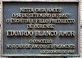 Placa na casa natal de Eduardo Blanco Amor. Ourense. Galiza.jpg