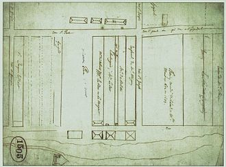 Fort Ville-Marie - Image: Place Montreal 1675