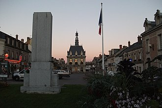 Fismes - The Town Hall Square