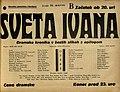 Plakat za predstavo Sveta Ivana v Narodnem gledališču v Mariboru 31. marca 1937.jpg
