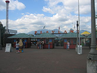 Playland (Vancouver) - Entrance to Playland