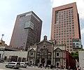 Plaza Juárez y Templo de Corpus Christi, Avenida Juárez, Ciudad de México.jpg