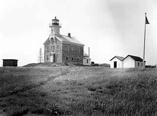 Plum Island Light lighthouse in New York, United States