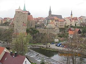 Spree - Image: Pohled z mostu panoramio (1)