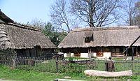 Poland guciow village etnographic museum