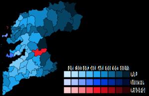 Pontevedra (Congress of Deputies constituency) - Image: Pontevedra Municipal Map Congress 2016
