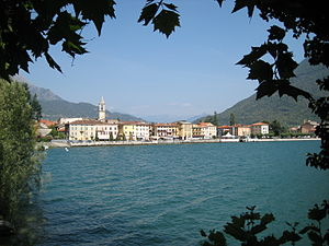 Porlezza - Image: Porlezza Lago di Lugano