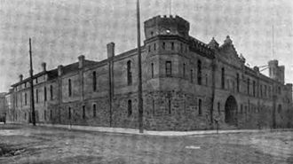 First Regiment Armory Annex - The Armory circa 1914