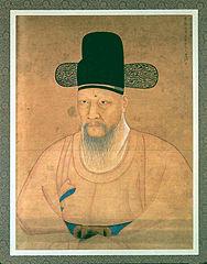 Portrait of Cho Man-Yong