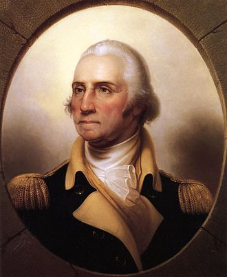 Commanding General of the United States Army - Image: Portrait of George Washington